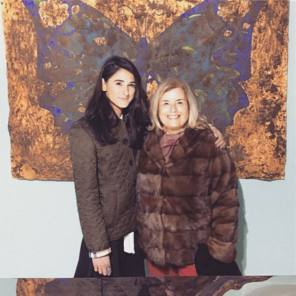 Christina Oiticica and Atossa Meier, owner of Gallery Elle in Zurich (photo credit: Atossa Meier/Gallery Elle Zurich)